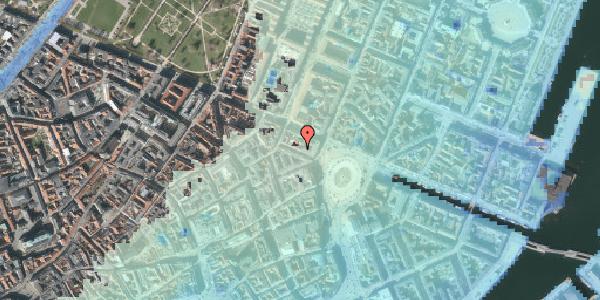 Stomflod og havvand på Ny Adelgade 4, 2. , 1104 København K
