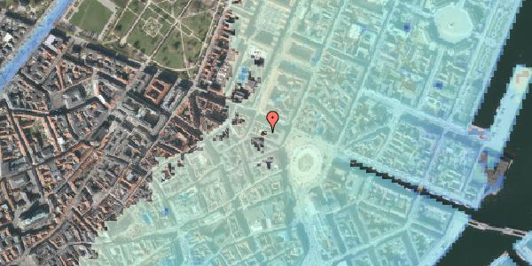 Stomflod og havvand på Ny Adelgade 6A, 2. , 1104 København K