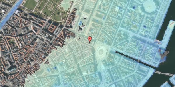 Stomflod og havvand på Ny Adelgade 6, 2. , 1104 København K