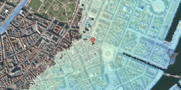 Stomflod og havvand på Ny Adelgade 7, 2. tv, 1104 København K
