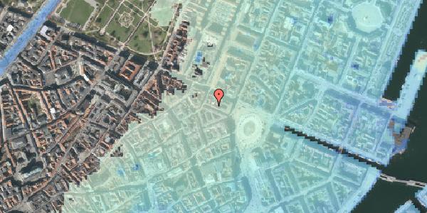 Stomflod og havvand på Ny Adelgade 8, kl. , 1104 København K