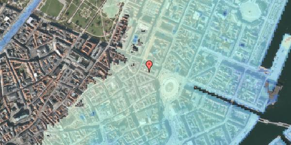Stomflod og havvand på Ny Adelgade 8, 1. , 1104 København K
