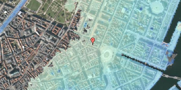 Stomflod og havvand på Ny Adelgade 10, kl. , 1104 København K