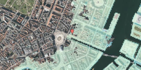 Stomflod og havvand på Nyhavn 1, kl. tv, 1051 København K