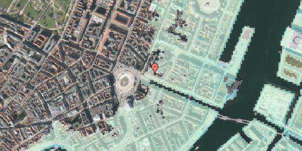 Stomflod og havvand på Nyhavn 3, kl. , 1051 København K