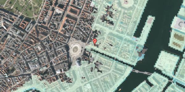 Stomflod og havvand på Nyhavn 5, kl. , 1051 København K