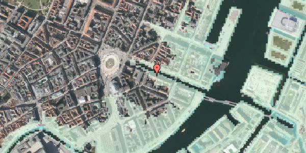Stomflod og havvand på Nyhavn 8, kl. tv, 1051 København K