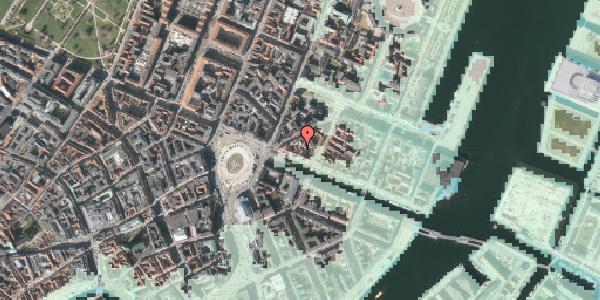 Stomflod og havvand på Nyhavn 9A, st. , 1051 København K