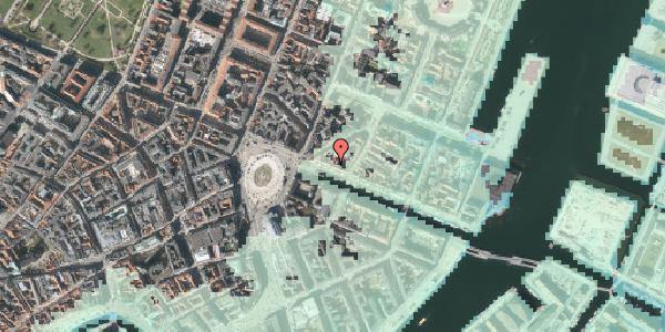 Stomflod og havvand på Nyhavn 9, 1. , 1051 København K