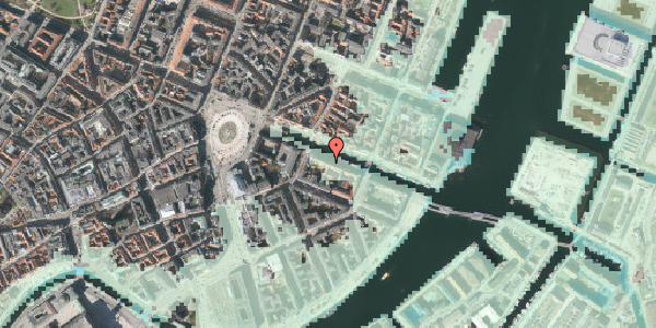 Stomflod og havvand på Nyhavn 12, 4. , 1051 København K