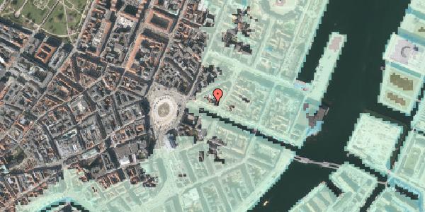 Stomflod og havvand på Nyhavn 13, st. , 1051 København K
