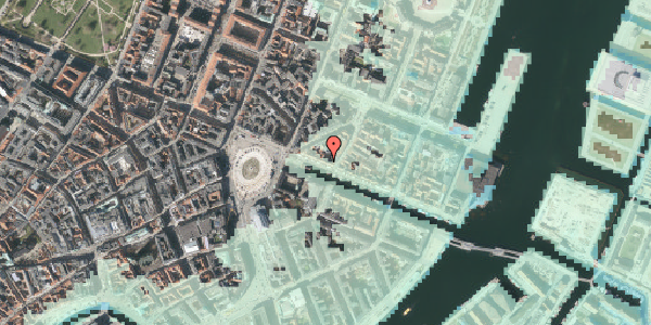 Stomflod og havvand på Nyhavn 13, 4. 3, 1051 København K
