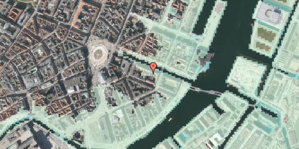 Stomflod og havvand på Nyhavn 18A, 1051 København K