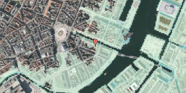Stomflod og havvand på Nyhavn 20C, 3. th, 1051 København K