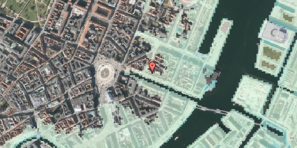 Stomflod og havvand på Nyhavn 23, 1. , 1051 København K