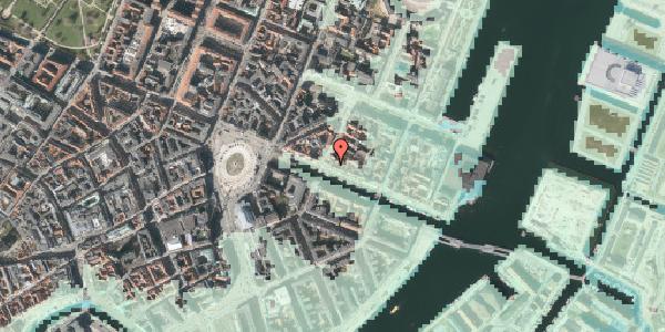 Stomflod og havvand på Nyhavn 23, 3. , 1051 København K