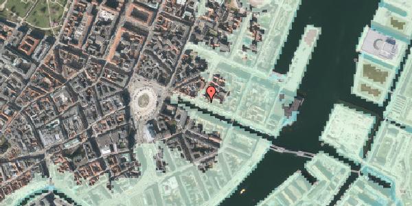 Stomflod og havvand på Nyhavn 25, st. , 1051 København K