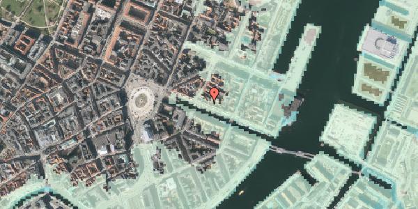 Stomflod og havvand på Nyhavn 29, 1. , 1051 København K