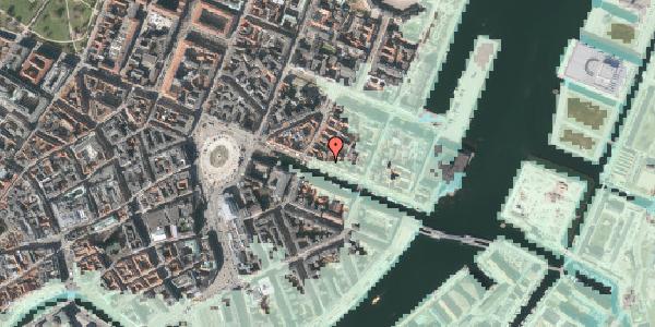 Stomflod og havvand på Nyhavn 31A, st. , 1051 København K