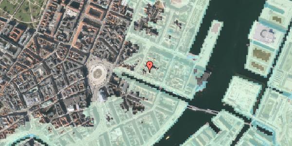 Stomflod og havvand på Nyhavn 31B, 4. th, 1051 København K