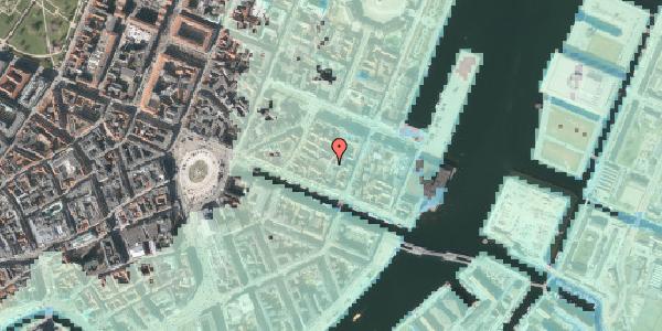 Stomflod og havvand på Nyhavn 31G, 2. , 1051 København K