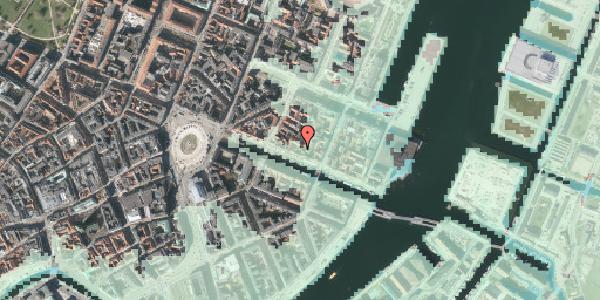 Stomflod og havvand på Nyhavn 37A, st. , 1051 København K