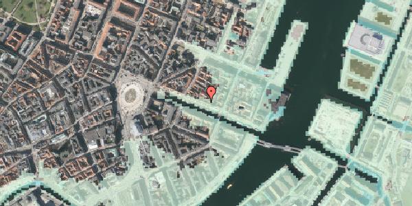 Stomflod og havvand på Nyhavn 37, kl. , 1051 København K