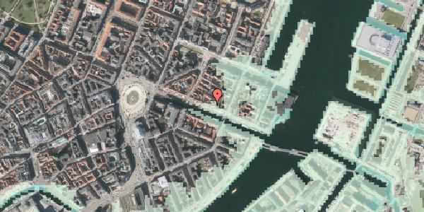 Stomflod og havvand på Nyhavn 39, st. , 1051 København K