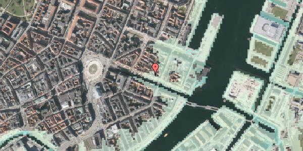 Stomflod og havvand på Nyhavn 41, 4. tv, 1051 København K