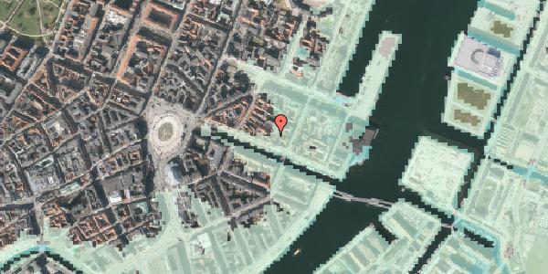 Stomflod og havvand på Nyhavn 43C, kl. , 1051 København K