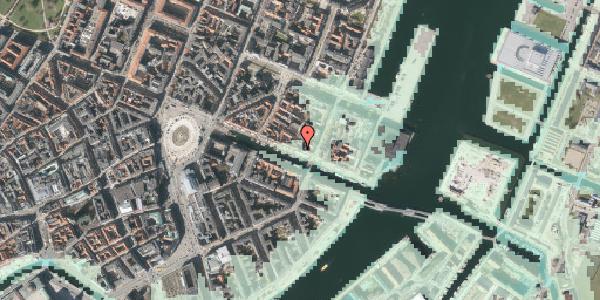 Stomflod og havvand på Nyhavn 43, st. , 1051 København K