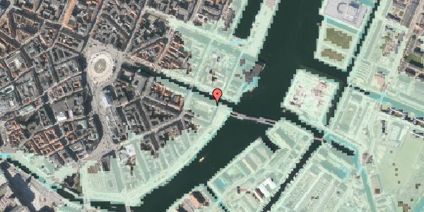 Stomflod og havvand på Nyhavn 44, st. , 1051 København K