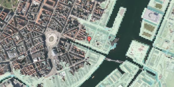 Stomflod og havvand på Nyhavn 45, kl. , 1051 København K