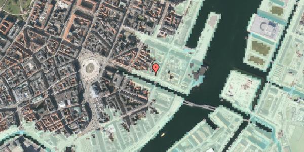 Stomflod og havvand på Nyhavn 45, st. , 1051 København K