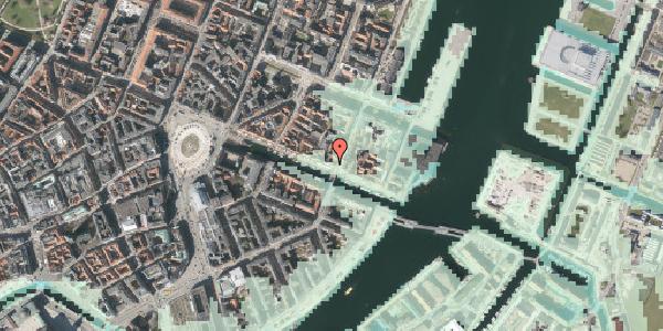 Stomflod og havvand på Nyhavn 47, kl. , 1051 København K