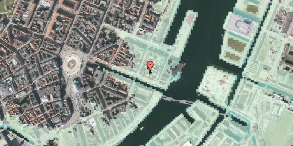 Stomflod og havvand på Nyhavn 57B, 3. , 1051 København K