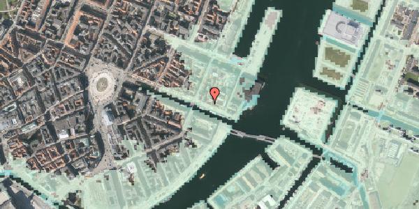 Stomflod og havvand på Nyhavn 61, 1. , 1051 København K