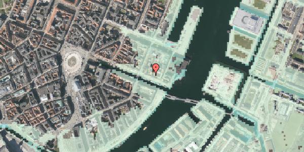 Stomflod og havvand på Nyhavn 63A, 3. , 1051 København K
