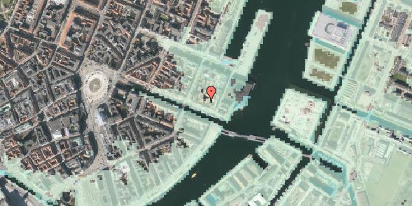 Stomflod og havvand på Nyhavn 63B, st. , 1051 København K