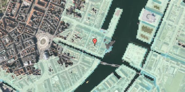 Stomflod og havvand på Nyhavn 63C, 2. 12, 1051 København K