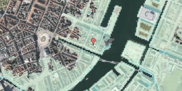 Stomflod og havvand på Nyhavn 63D, st. , 1051 København K