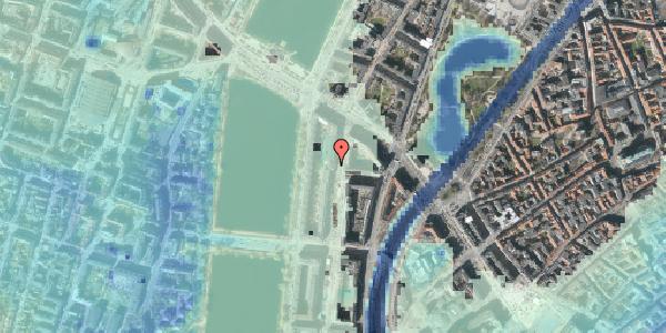 Stomflod og havvand på Nyropsgade 14, 6. , 1602 København V