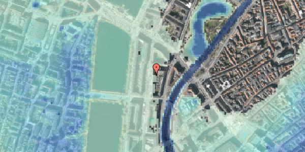 Stomflod og havvand på Nyropsgade 17, kl. 1, 1602 København V
