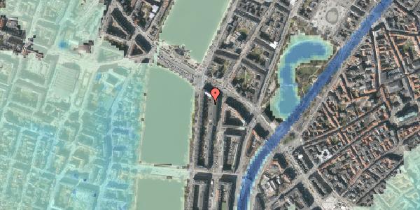 Stomflod og havvand på Nyropsgade 18A, 1602 København V