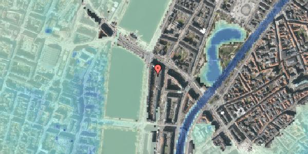 Stomflod og havvand på Nyropsgade 18C, 1602 København V