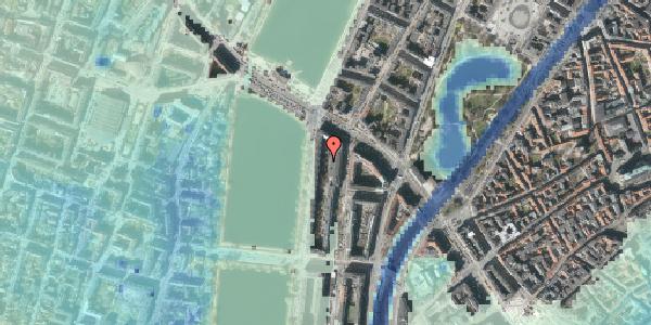 Stomflod og havvand på Nyropsgade 18F, 1602 København V