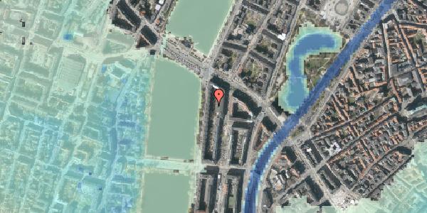 Stomflod og havvand på Nyropsgade 18M, 1602 København V