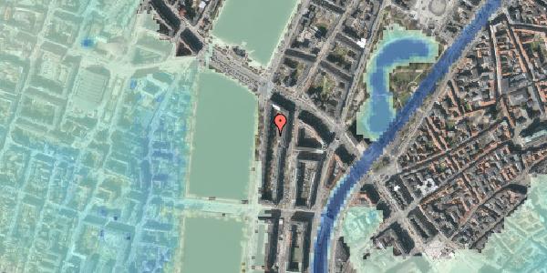 Stomflod og havvand på Nyropsgade 18R, 1602 København V