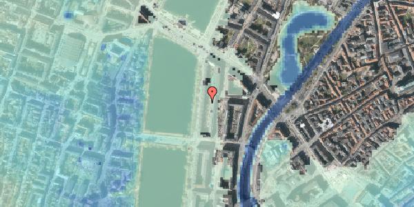 Stomflod og havvand på Nyropsgade 18Y, 1602 København V