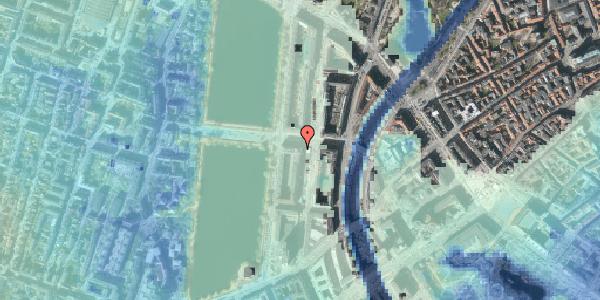 Stomflod og havvand på Nyropsgade 30, kl. th, 1602 København V